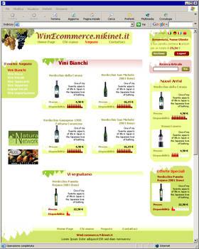 Wine E-commerce demo