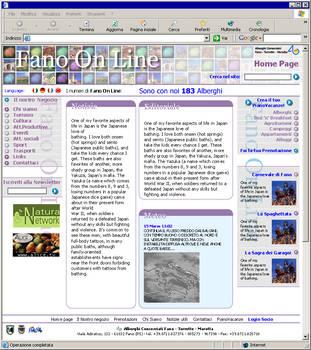 Fano on line portal design