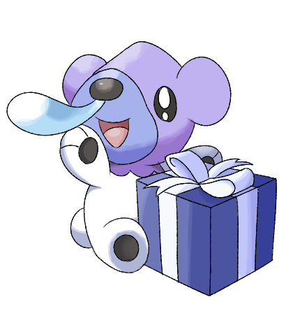 Shiny Christmas Cubchoo by iLikki on DeviantArt