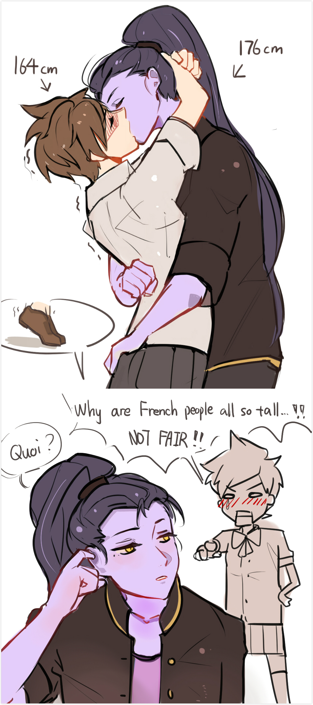 kissing favorite senpaibjmaki on deviantart