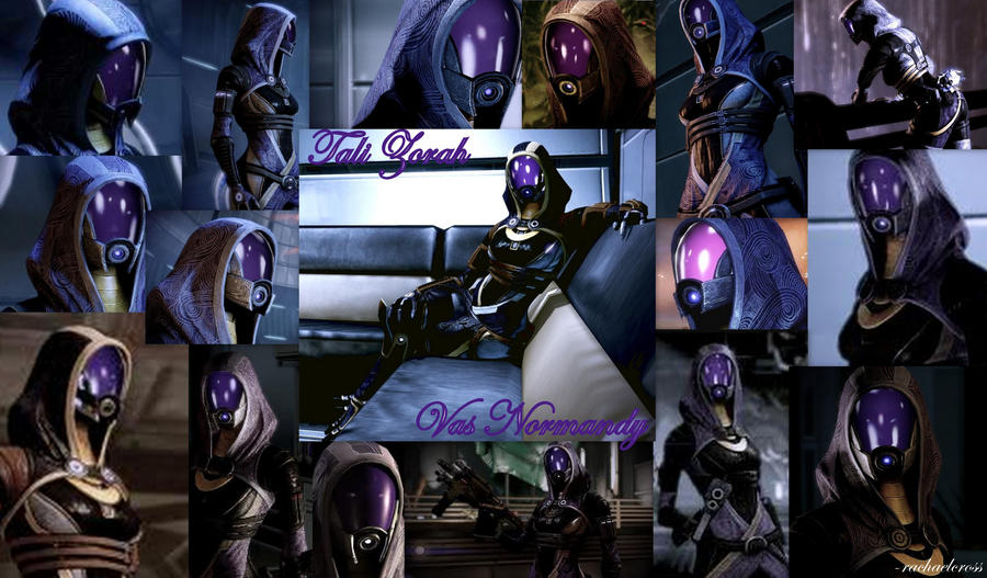 Tali Zorah vas Normandy by ShadowcatPrime