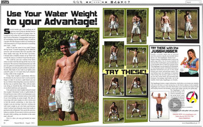 Natural Muscle Magazine Oct12 Jason Aaron Baca