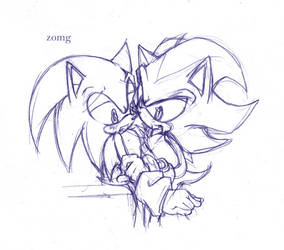 zomg. sketchy sonadow by Crumpet