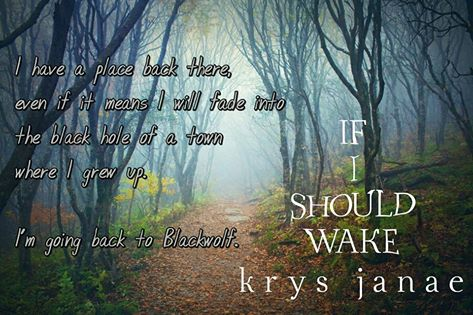 If I Should Wake - Promotional #1 by midnightskyes