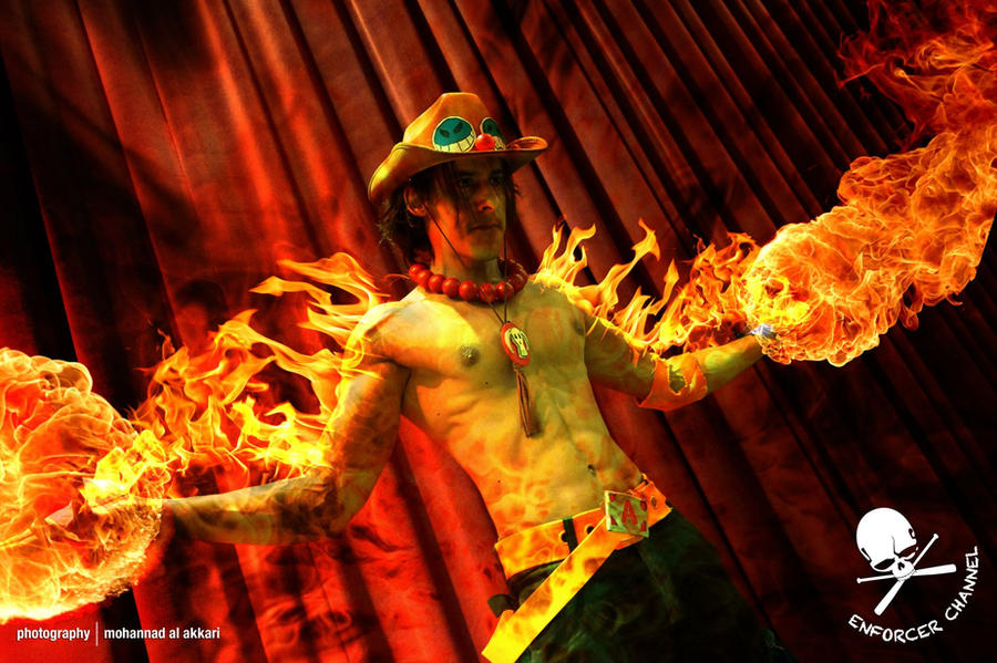 ACE One Piece Cosplay 2nd Remake - 12