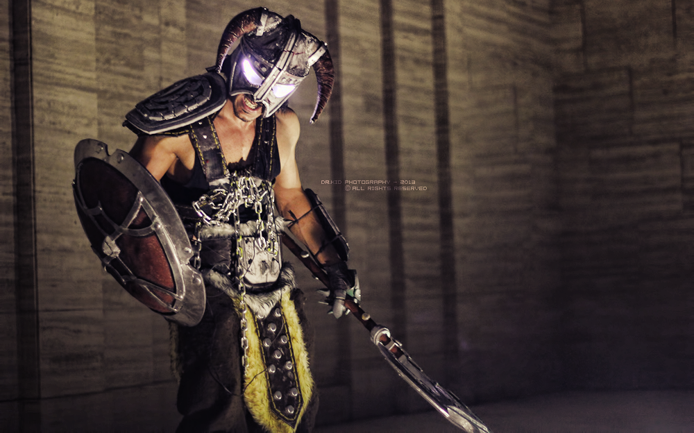 Skyrim Cosplay by vega147