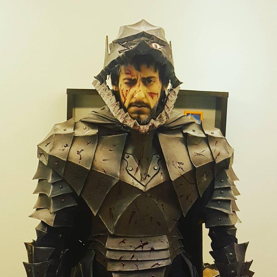 guts - berserker Armor cosplay  by vega147