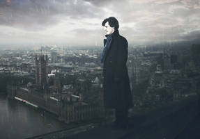 The Guardian of London by AriellaColdheart