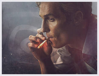 Rust Cohle by AriellaColdheart