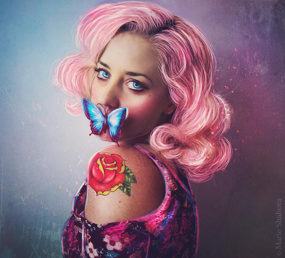 Bubble Gum by AriellaColdheart