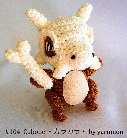 Amigurumi Pokemon Paso A Paso : Cubone Pokemon Amigurumi by yarnmon on DeviantArt