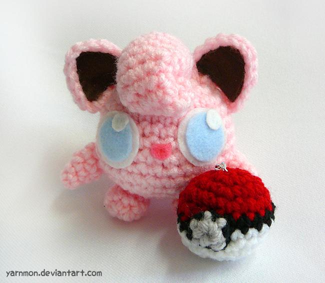 Amigurumi Sad Pokemon : Jigglypuff Pokemon Amigurumi by yarnmon on DeviantArt
