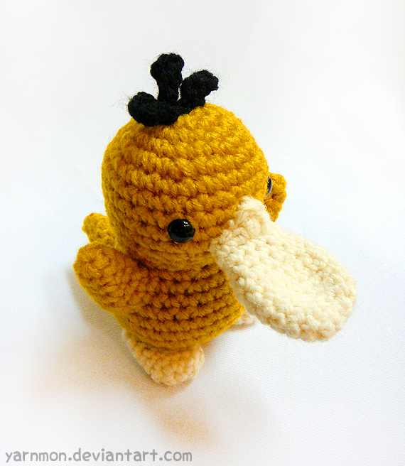 Psyduck Pokemon Amigurumi by yarnmon on DeviantArt