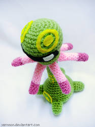Cradily Amigurumi Plush by yarnmon
