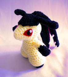 Mawile Pokemon Amigurumi by yarnmon