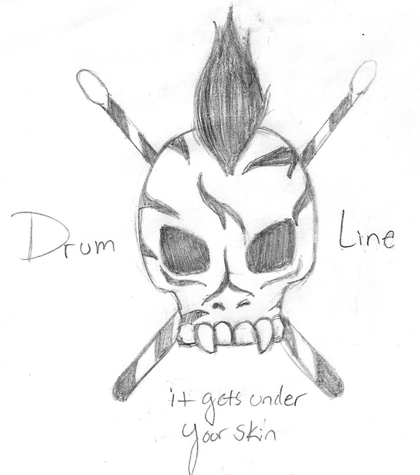 Drumline Shirt Rough Sketch By Smexy Ninja