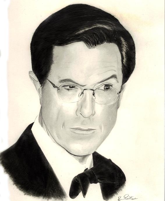 Stephen Colbert Portrait by SkeetRag