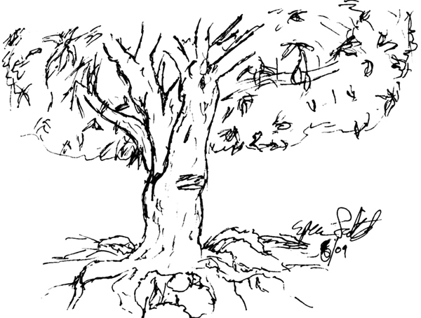 Line Art Mango : Mango tree by roundedfang on deviantart