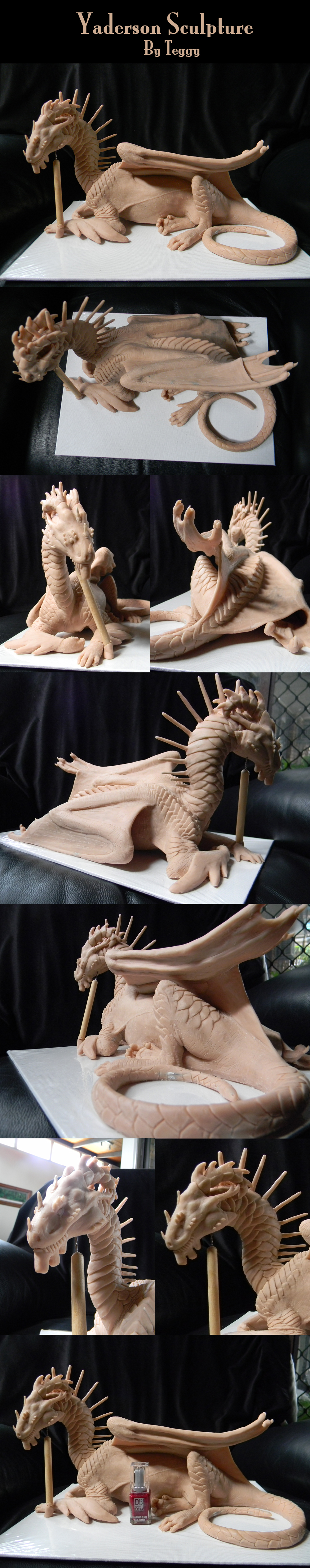 Finished Yaderson Sculpture by Teggy