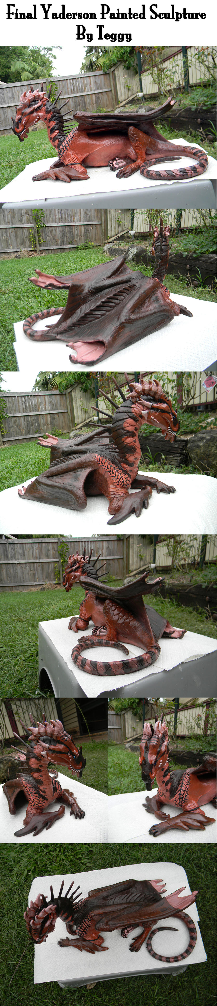 Final Yaderson Sculpture by Teggy