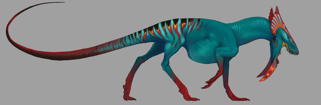 creature wip by Teggy