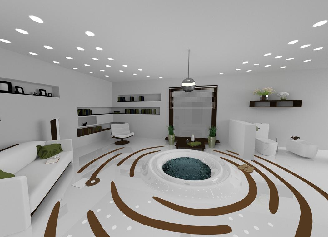 bathroom 1/2 by mino159