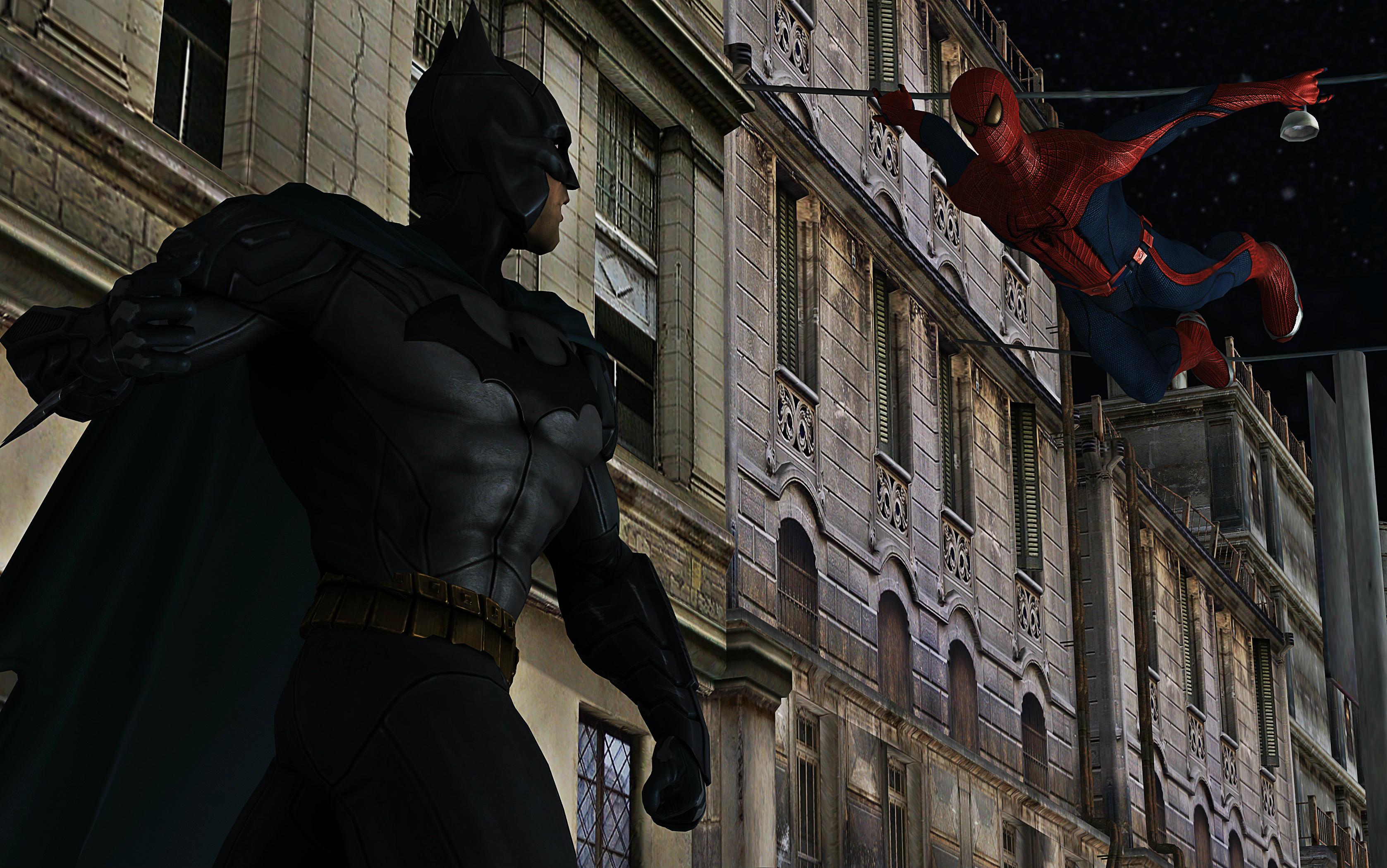 Batman Vs. Spider-Man by calibur222 on DeviantArt