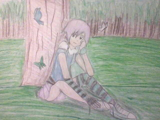 RWBY OC Drawing: The Girl From the Woods Part 2 by calibur222