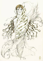Pencil sketch by Marcianek
