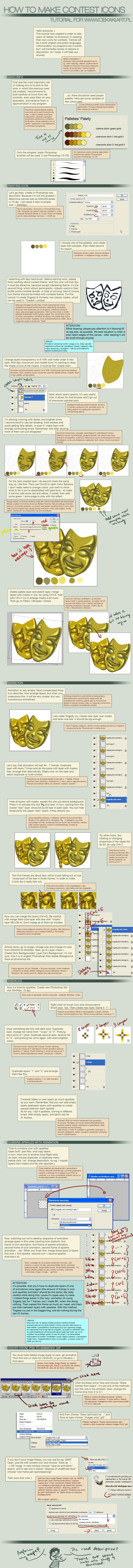 Animated Gold Icon tutorial