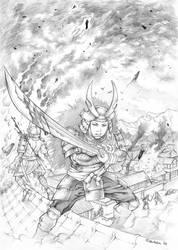 Commission: Matsu Genjuro by Marcianek