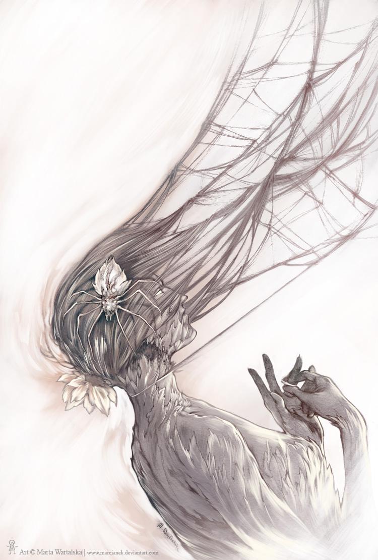 White Widow by Marcianek