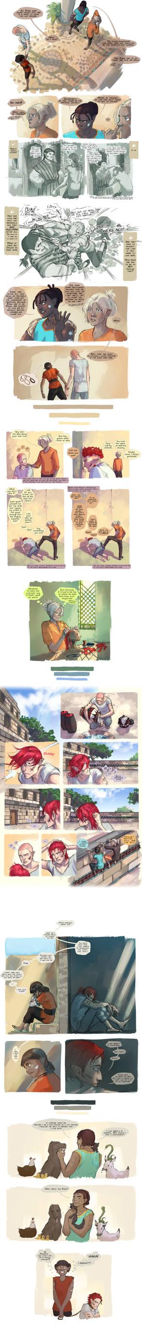 OCAC Comic Compilation