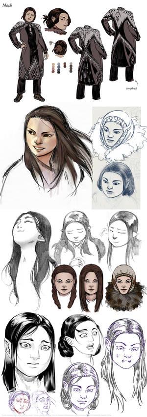 Nadi Concept Sketches
