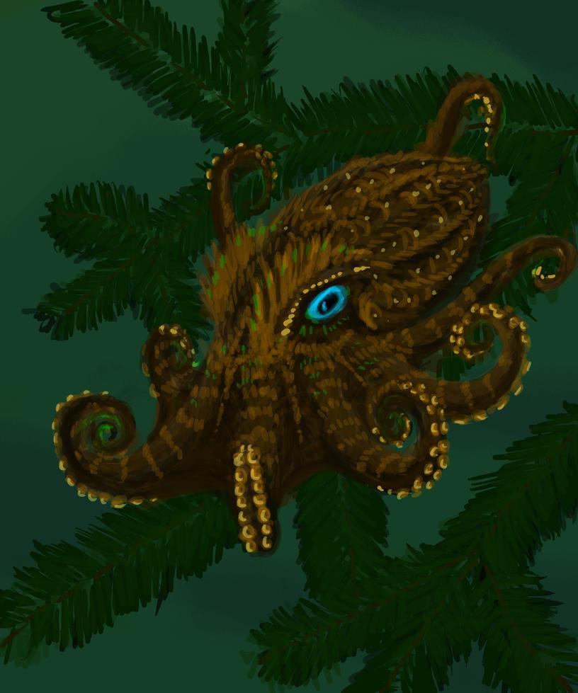 Pacific Northwest Tree Octopus by GlassEyeSphynx on DeviantArt