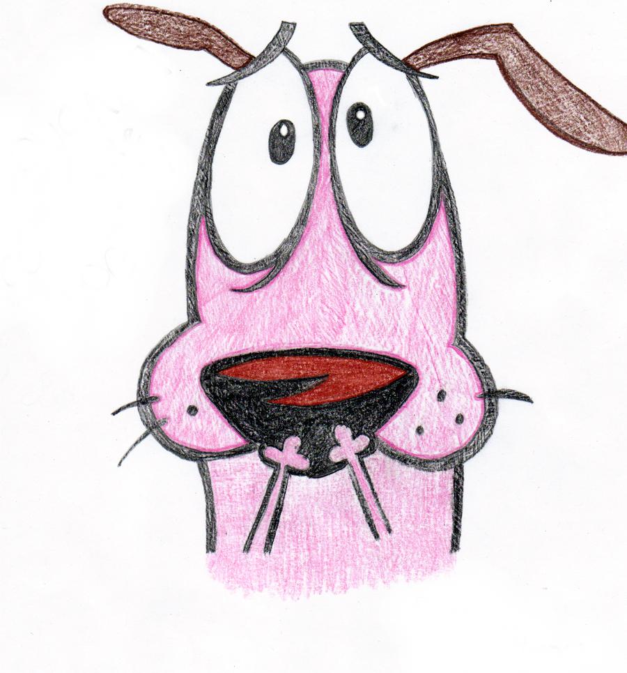 Courage The Cowardly Dog By Cartoonimedeo On DeviantArt