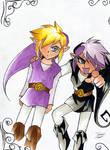 Vio and Shadow Link