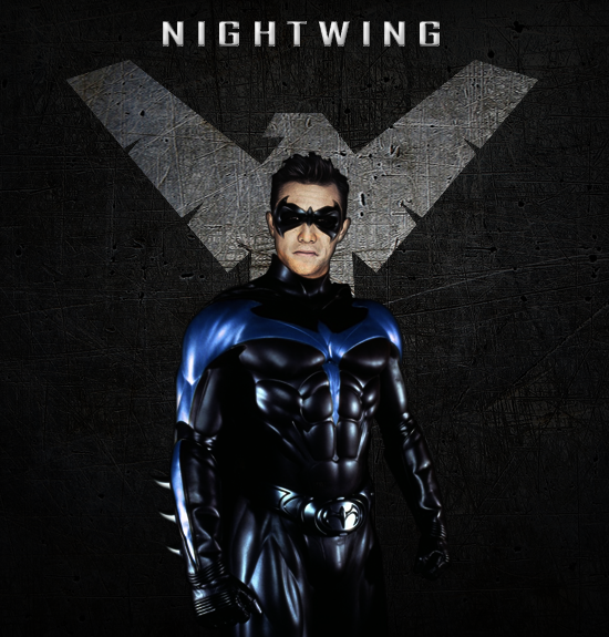 nightwing poster by agentspiff on deviantart