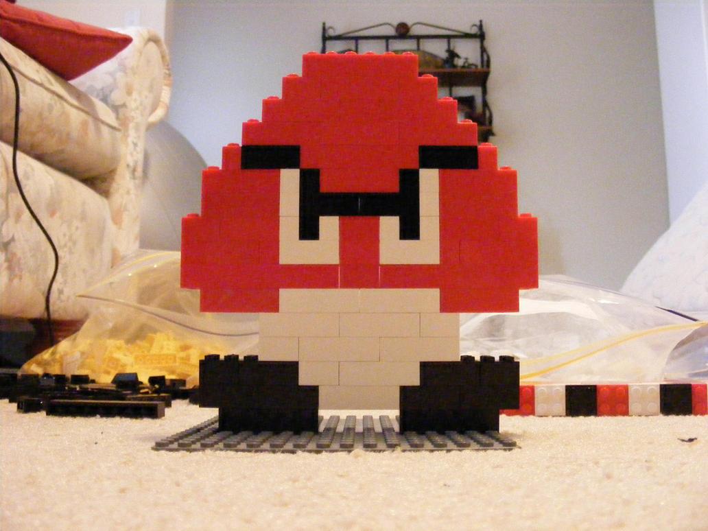 how to make lego mario