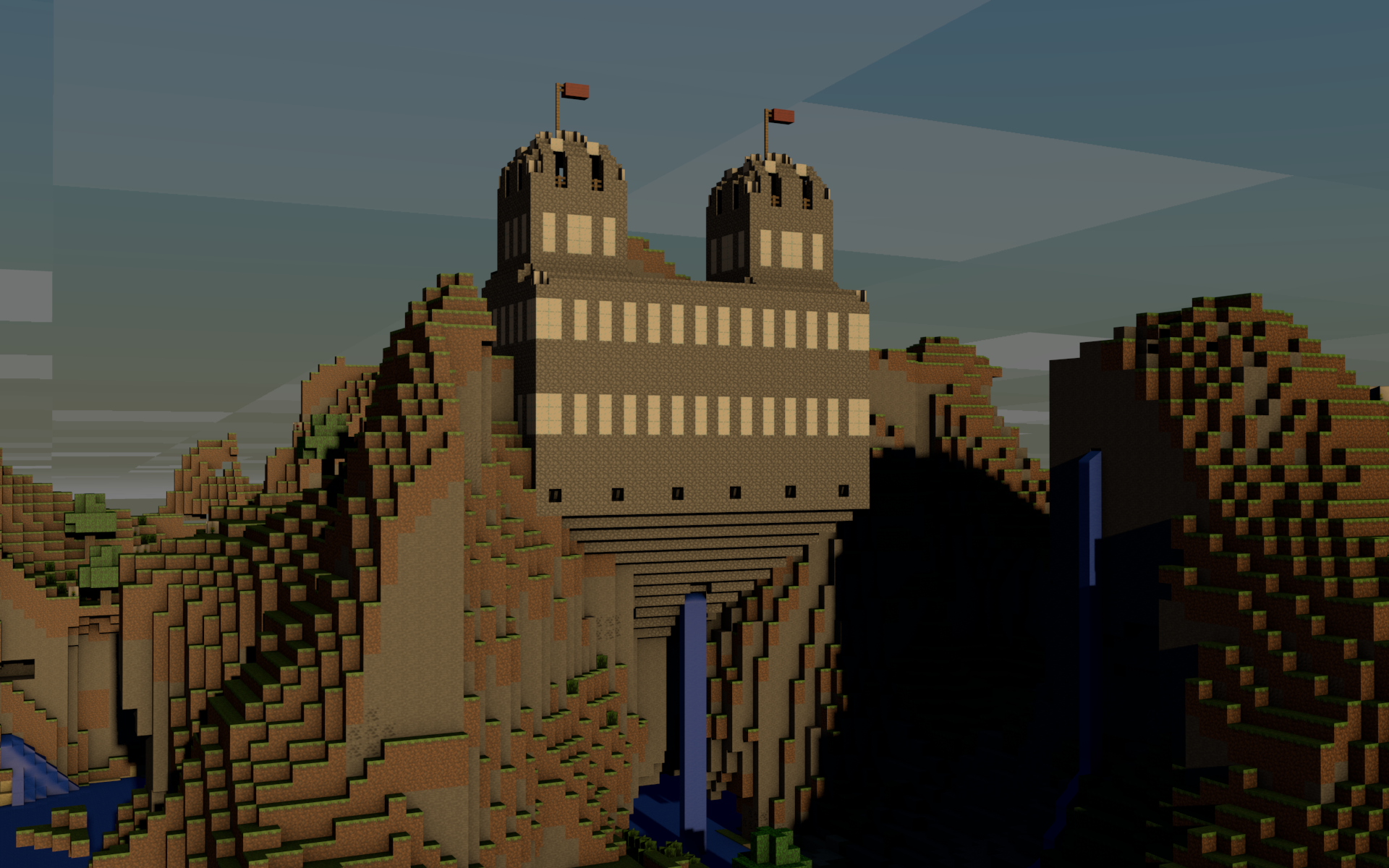 Minecraft Castle 3d render by MHalse on DeviantArt