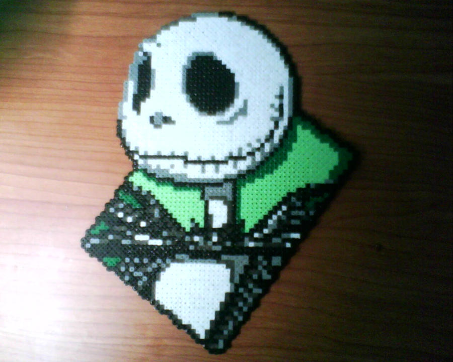 Jack Skellington Hama Beads By Gandull On Deviantart