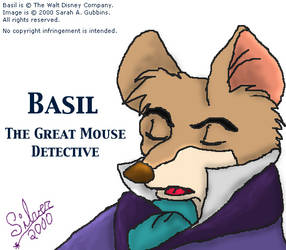 Basil Sleeping - Old, 2000 by silverdreams
