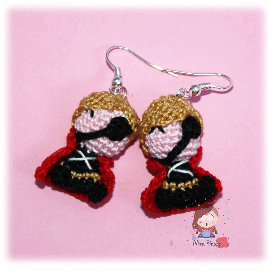 Drop amigurumi   Crochet, Crochet earrings, Amigurumi   900x900