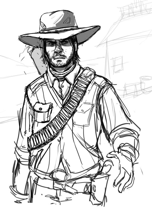red dead redemption coloring pages - photo#25