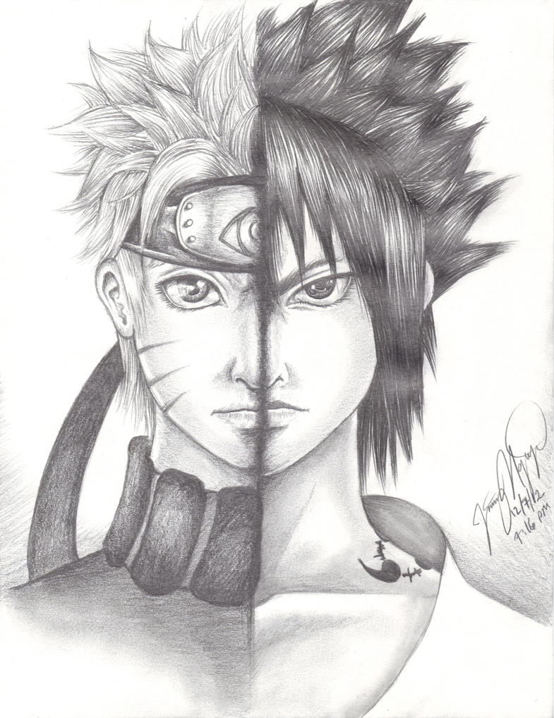 صور دراغون بول Naruto_and_sasuke_by_doctoreggroll-d5nhch9