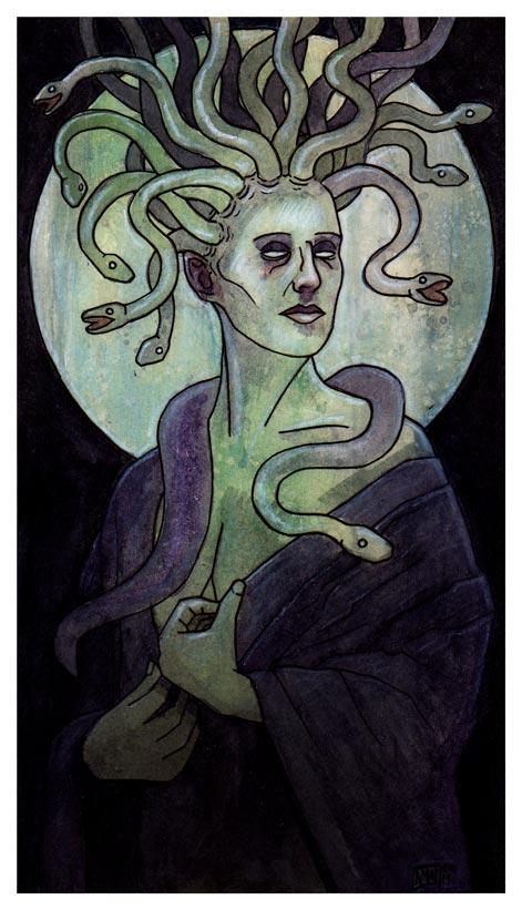 Euryale by MallonIllustration