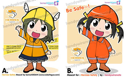 Hermes Safety Mascot
