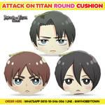 Attack On Titan Round Cushion Trio :)