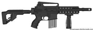 CLWS combat rifle model 1.0