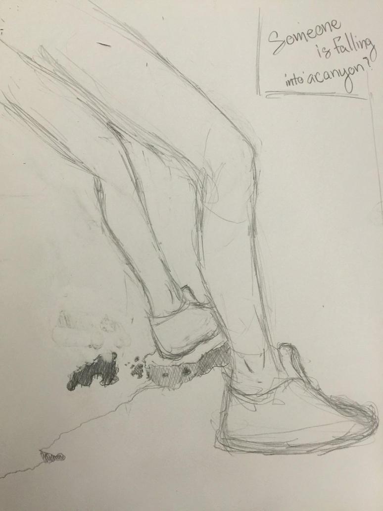 Random sketch by TheSilentVoice-Arts
